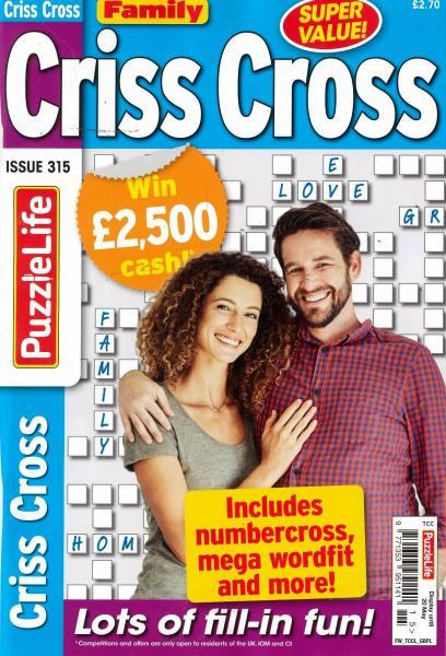 Family Criss Cross magazine