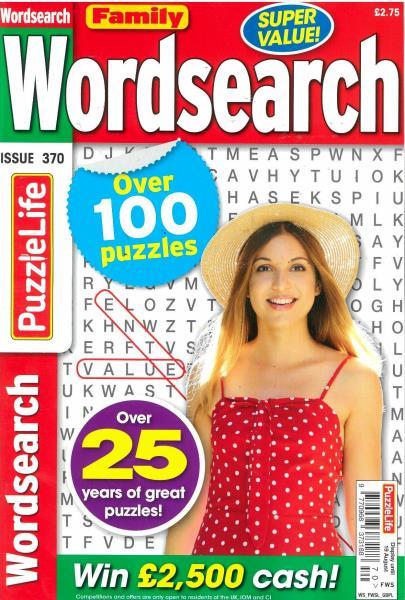 Family Wordsearch magazine