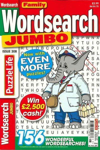 Family Wordsearch Jumbo magazine