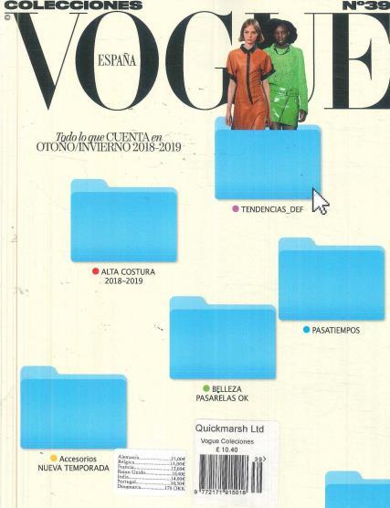 Vogue Colecciones magazine