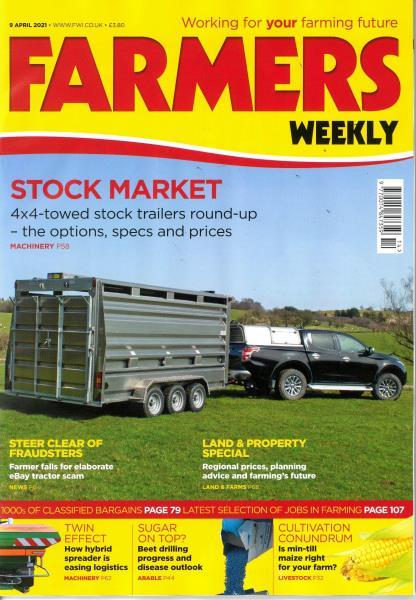 Farmers Weekly magazine