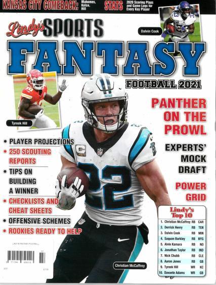 Lindy's Sports Fantasy Football magazine