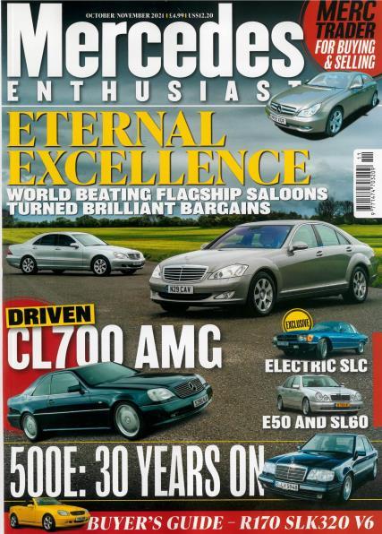 Mercedes Enthusiast magazine
