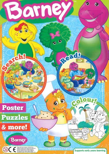 Barney magazine