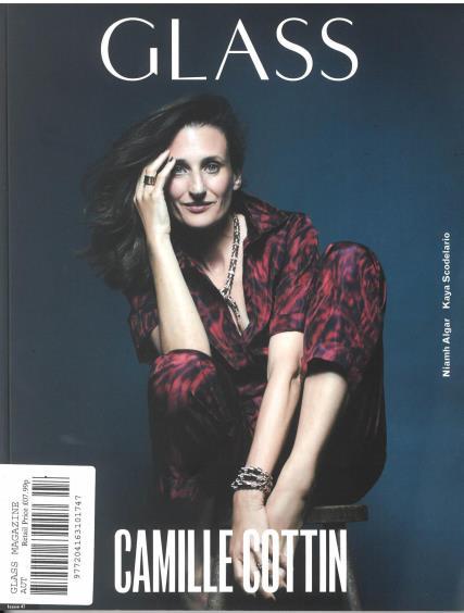 Glass magazine