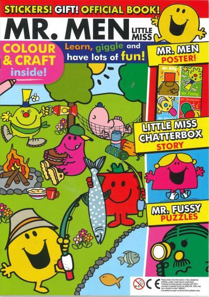 Mr Men Little Miss magazine
