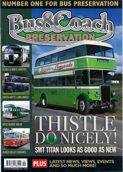 Bus & Coach Preservation magazine