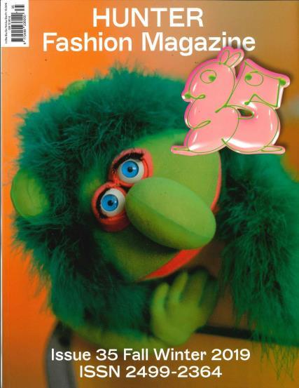 Hunter Fashion magazine