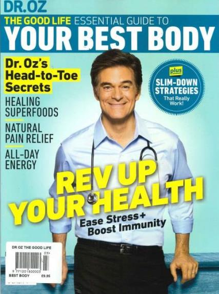 Dr Oz The Good Life magazine