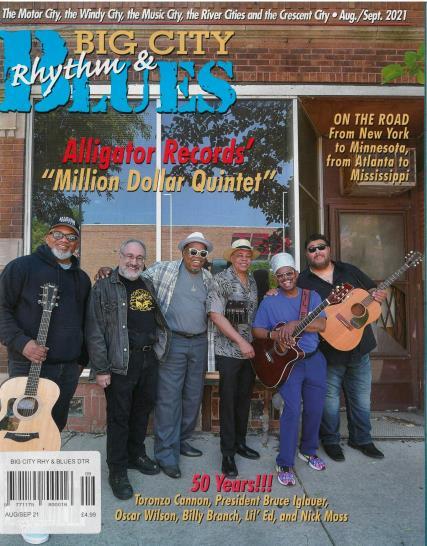 Big City Rhythm & Blues magazine