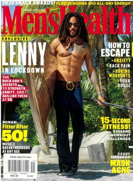 Men's Health USA magazine