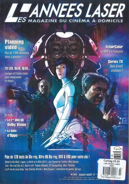 Les Annes Laser magazine