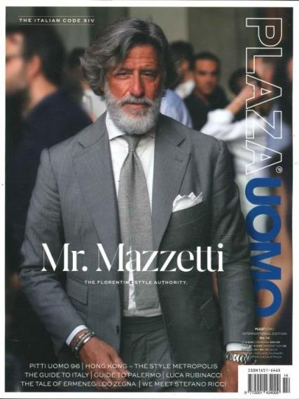 Plaza Uomo magazine