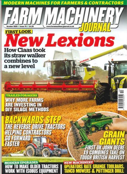 Farm Machinery Journal magazine