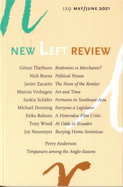 New Left Review magazine