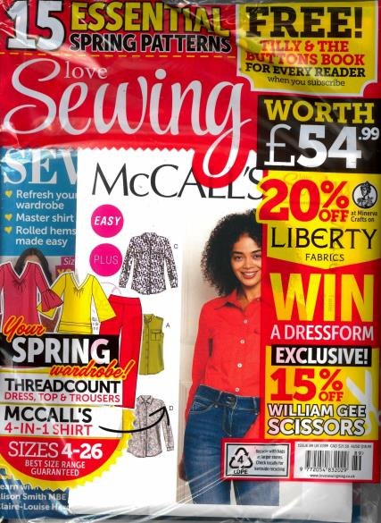 Love Sewing magazine
