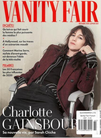 Vanity Fair French magazine