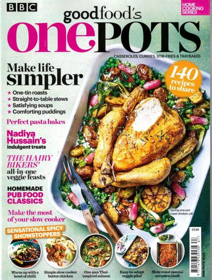 BBC Home Cooking Series magazine