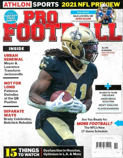 Athlon Sports Pro Football magazine