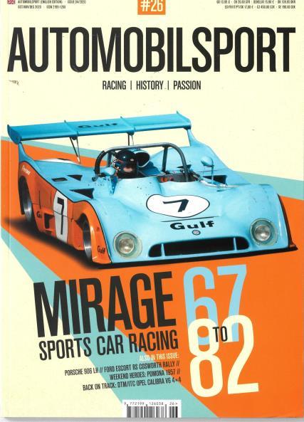 Automobilsport magazine
