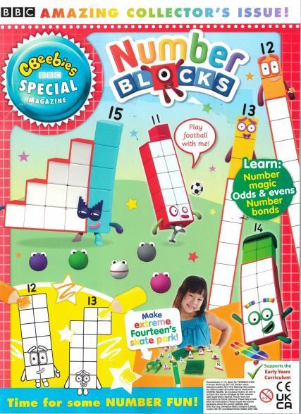 CBeebies Special Gift magazine