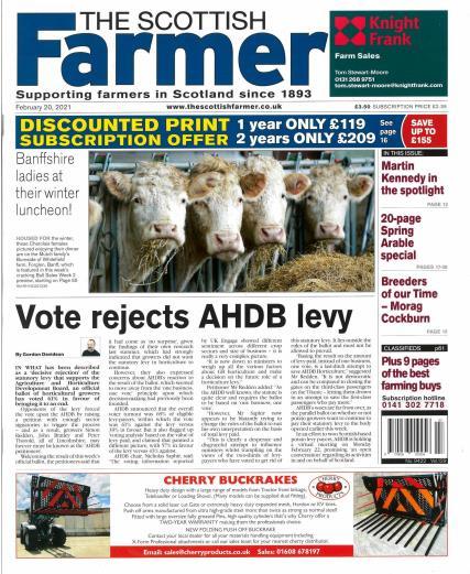 The Scottish Farmer magazine
