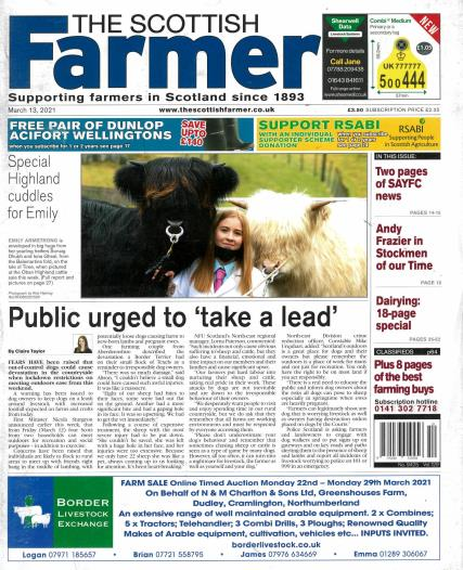 The Scottish Farmer magazine