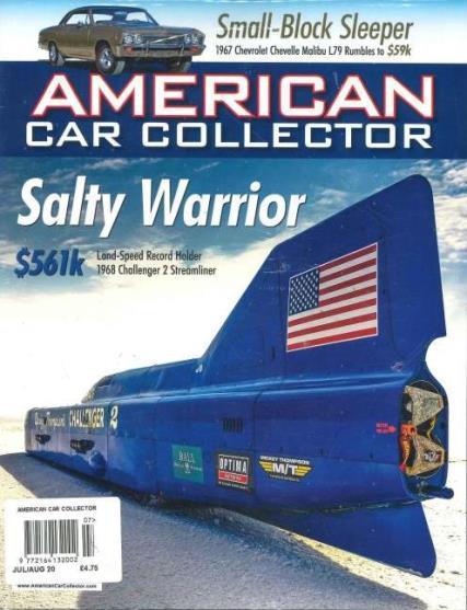 American Car Collector magazine