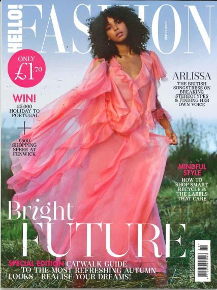 Hello Fashion Monthly magazine