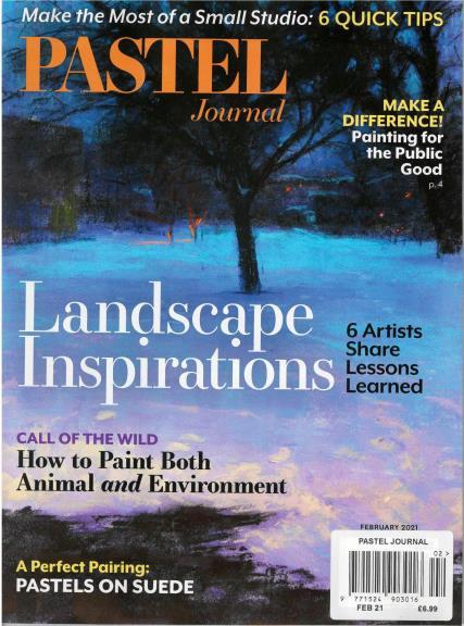 Pastel Journal magazine