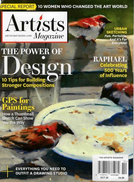 Artists Magazine magazine