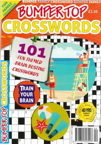 Bumper Top Crosswords magazine