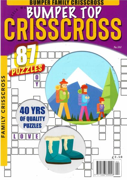 Bumper Top Criss Cross magazine