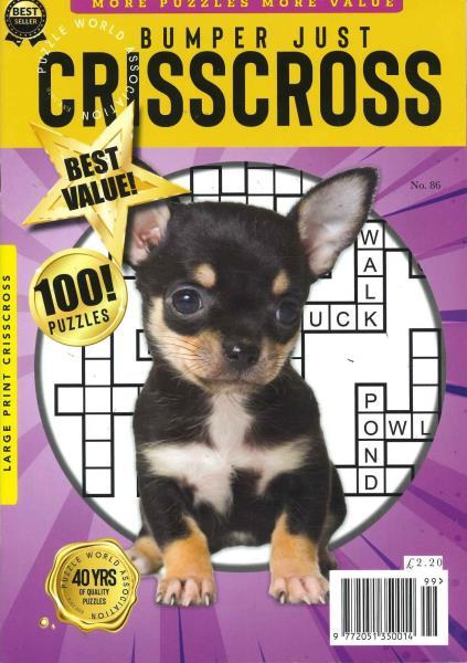 Bumper Just Criss Cross magazine
