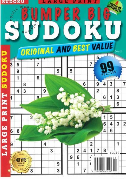 Bumper Big Sudoku magazine