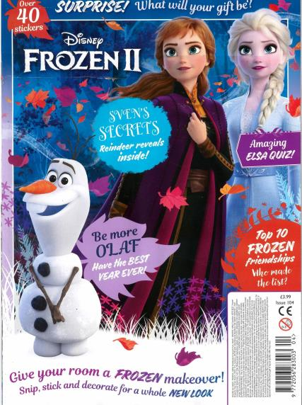 Frozen magazine