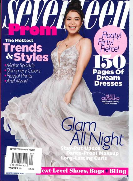Seventeen Prom magazine