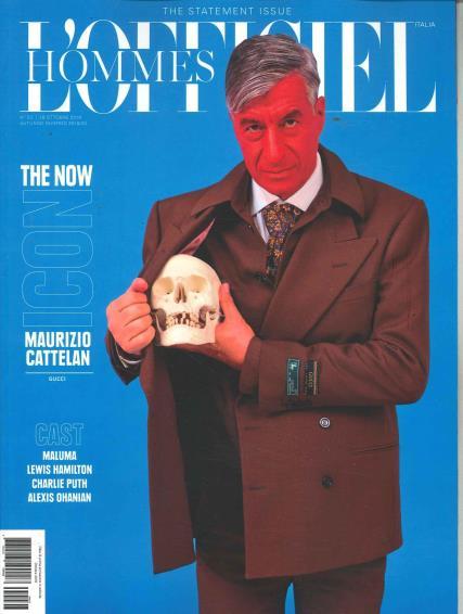 L'Officiel Homme Italian magazine