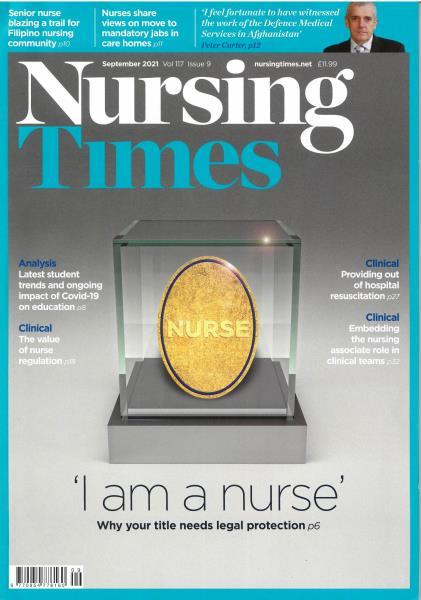 Nursing Times magazine