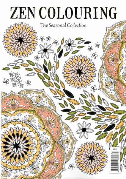 Zen Colouring magazine