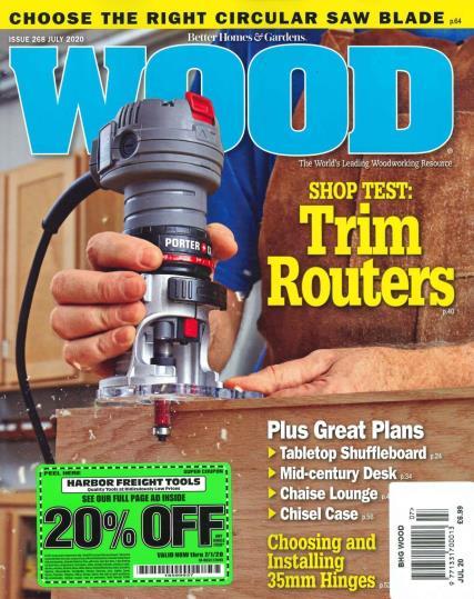 BHG Wood magazine