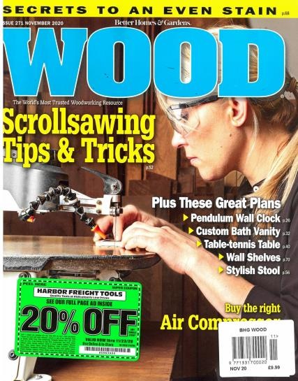 BHG Wood magazine