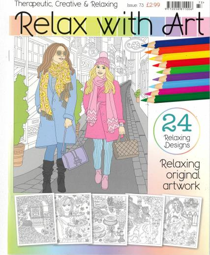 Relax With Art magazine