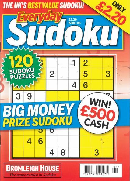 Everyday Sudoku magazine