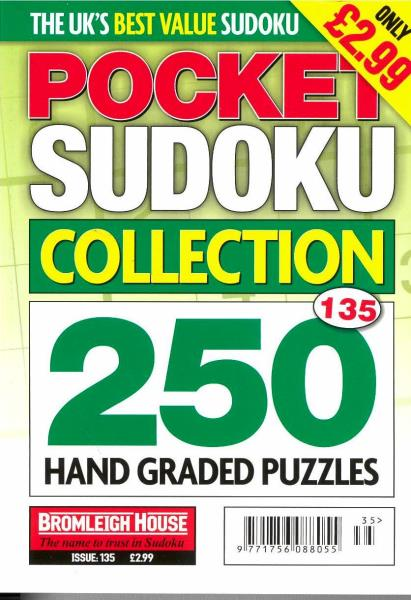 Pocket Sudoku Collection magazine