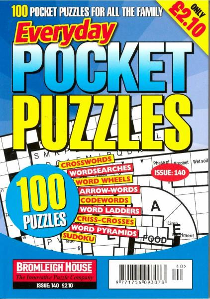Everyday Pocket Puzzles magazine