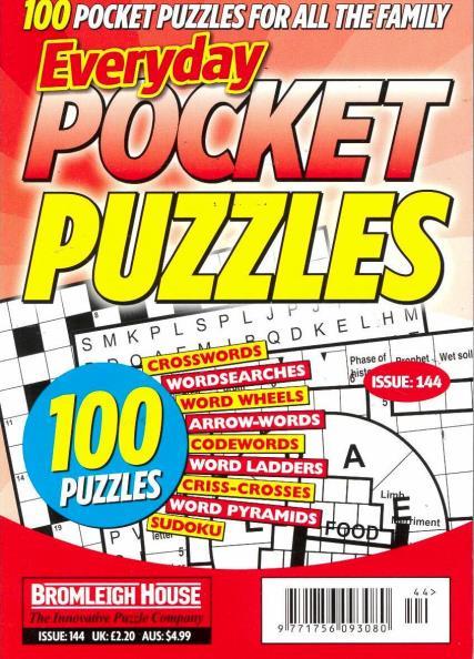 Everyday Pocket Puzzles magazine