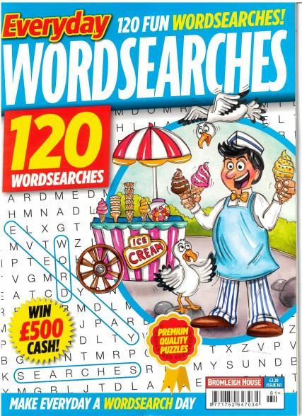Everyday Wordsearches magazine