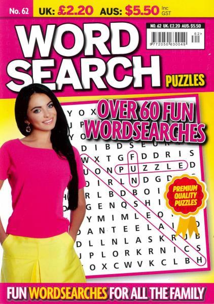 Wordsearch Puzzles magazine