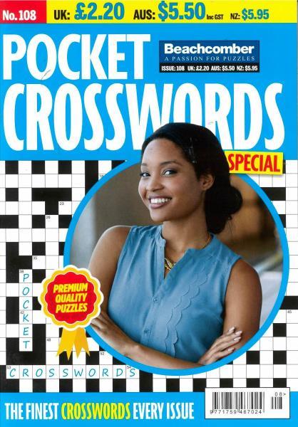 Pocket Crosswords Special magazine